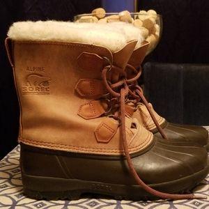 Brown Sorel boots